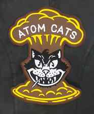 Atom Cats large motorcycle style embroidered patch Fallout