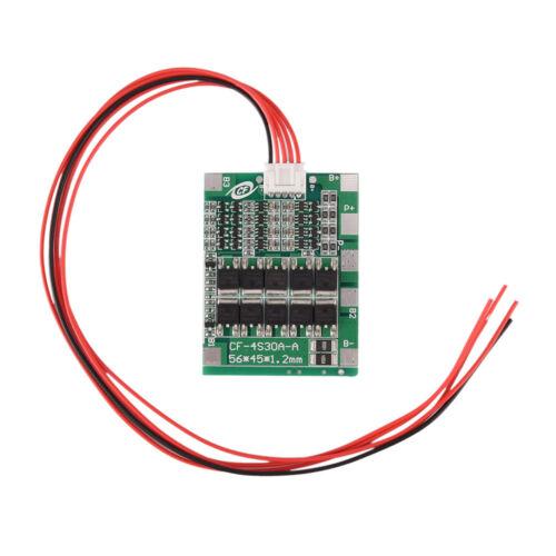 Balance-Batterie-Schutz-Brett BMS PWB 30A für 36V 10S 10Packs Li-Ion Zelle WH