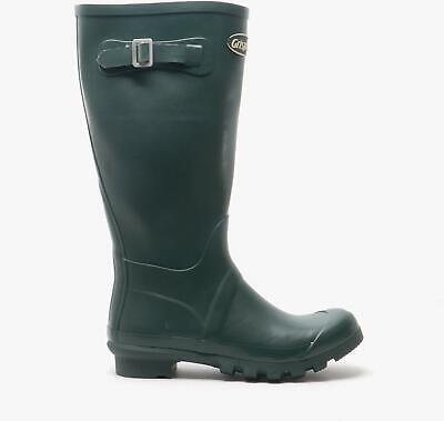 Grisport STRAP WELLINGTON Unisex Womens Mens Waterproof Rubber Boots Green