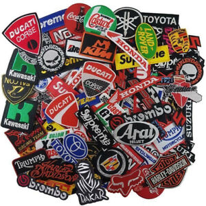 Wholesale-Lot-MotoGP-Sport-Racing-Race-Motorcycle-Sew-Iron-Embroidered-on-Patch