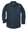 Backpacker Solid CHAMOIS Shirt AUTHENTIC 7090 7.5 oz Cotton NAVY Mens XXXL NEW