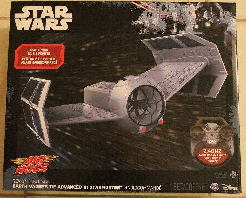 Air Hogs Star Wars DARTH VADER'S TIE ADVANCED X1 STARFIGHTER  RC  2.4 GHZ