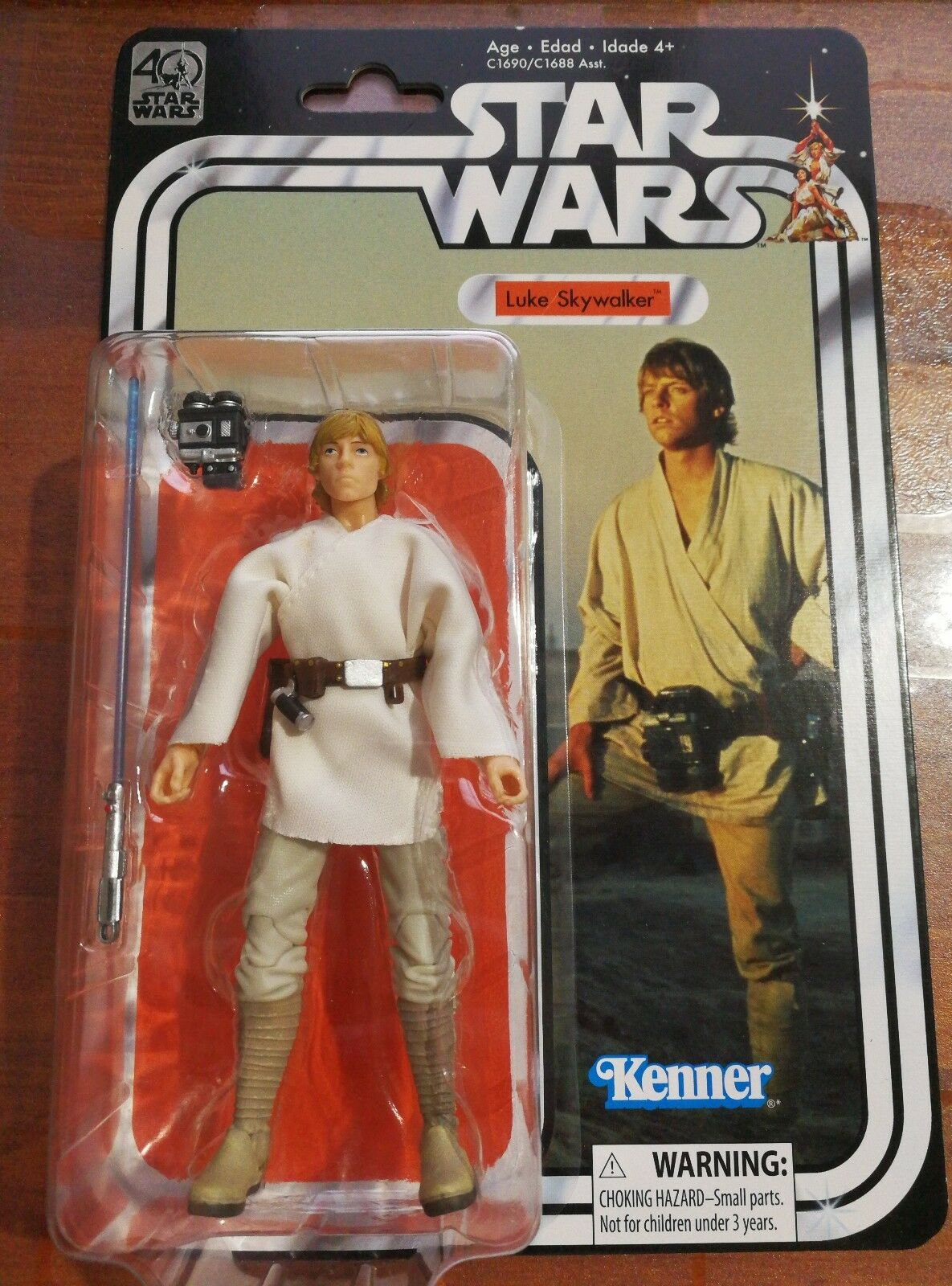Star Wars 40th Anniversary Luke Skywalker for 6 Inch Inch Inch Figure Collection 189419