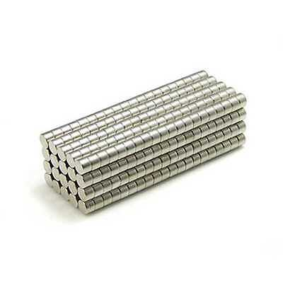 "200pcs 3//16/"" x 5//64/"" Disc 5x2mm Neodymium Magnets Refrigerator Permanent N35"