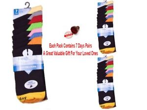 7 DAYS OF THE WEEK SOCKS GREAT GIFT FATHERS DAY BIRTHDAY XMAS GIFT