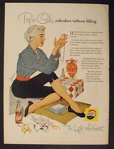 1960 Have a Pepsi-Cola Soda-Pop Boy Scouts Memorabilia Camping Cook-Out Print AD