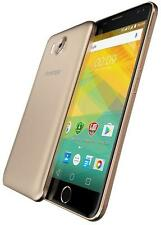 "Prestigio - PSP7501DUOGOLD - Grace R7 5.0"" Quad Core Dual Sim Smartphone, Gold"