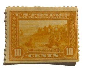 1913-US-Stamps-Collection-Scott-400-10c-Unused-OG-H-CV-120