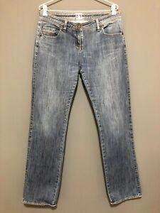 SASS-amp-BIDE-Classic-Blue-Jeans-Size-31-Ladies-12-Straight-Leg-Mid-Rise-Winter