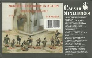 Caesar-Miniatures-1-72-Modern-US-Soldiers-in-Action-Set-1