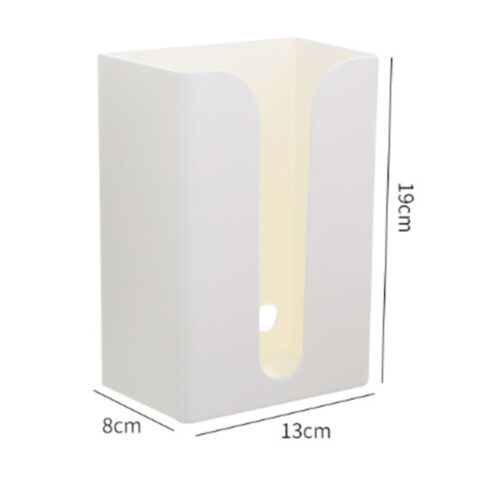 Portable Hole-free Wall Mounted Toilet Kitchen Tissue Box Holder Paper Holder