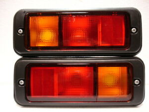 Isuzu-Trooper-Vauxhall-Opel-MONTEREY-1991-1999-Rear-Tail-fog-lights-lamp-LH-RH