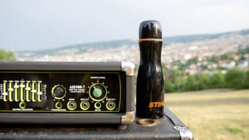 STIHL Thermosflasche// kanne Schwarz 0,5L    04642510010 NEU STIHL FAN