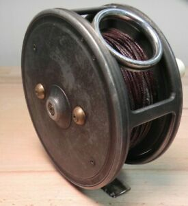 vintage-fly-reel-ABBY-amp-IMBRIE-Made-in-England-Alloy-4-inch-RARE
