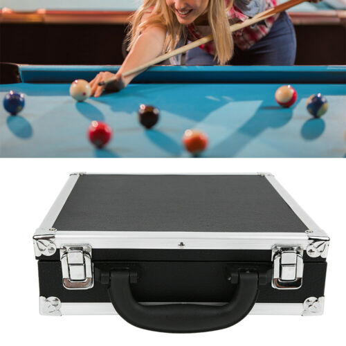 Snooker Billiard Balls Storage Box Pool Carrying Case with Carry Handle Durable