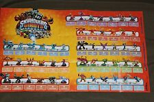 Skylander Giants 3DS Version Punch Pop Fizz Action Figure Checklist Game Poster