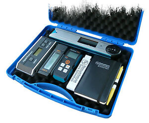 Entfernungsmesser Mit Neigungsmesser : Koffer für aufmaß: winkelmesser neigungsmesser entfernungsmesser ebay