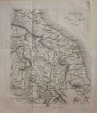 1834 VIAGGIO BOLOGNA FIRENZE ROMA Artaria Romagna Toscana Lazio Umbria Marche