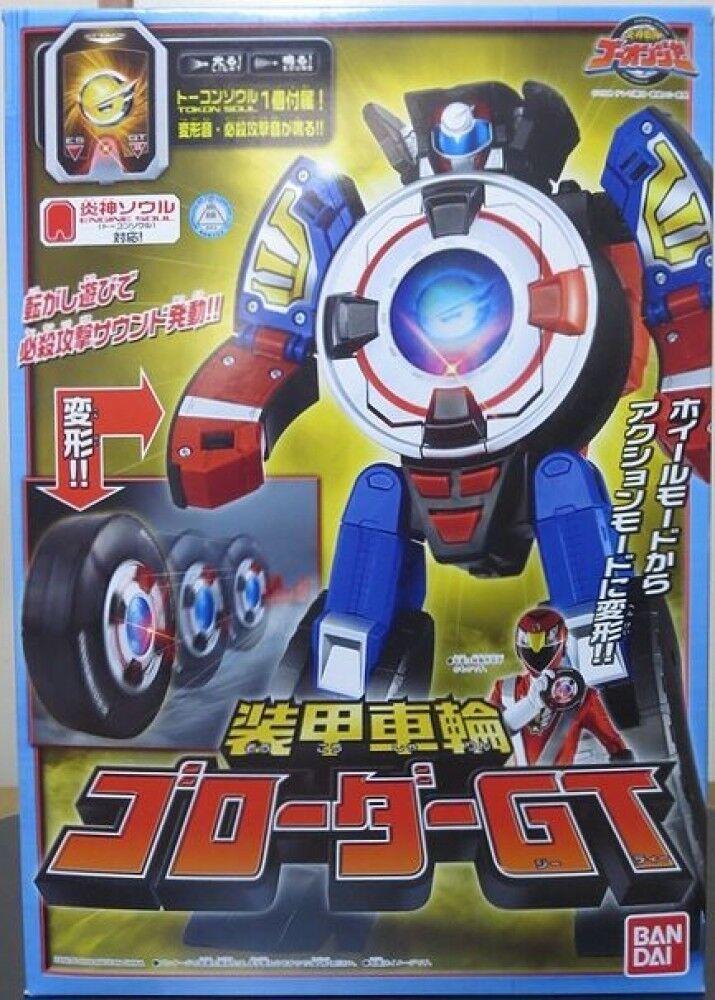 Power Rangers Engine Sentai Go-Onger DX ArmoROT Wheel Go-roader GT MEGAZORD