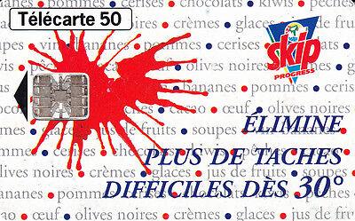 Expressief France Télécarte 50 Skip élimine Plus De Taches Difficiles Dès 30° Gemakkelijk Te Repareren