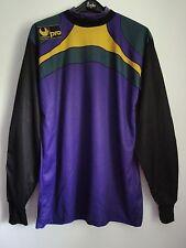 Rare 1980s Vintage Goalkeeper Uhlsport Soccer Football Shirt Trikot Jersey L
