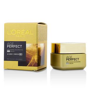 L-039-Oreal-Age-Perfect-Restoring-Nourishing-Eye-Cream-15ml-Eye-amp-Lip-Care