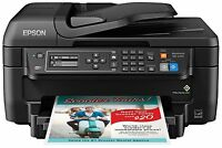 Epson Wf-2750 All-in-one Wireless Color Printer W/ Scanner, Copier & Fax --