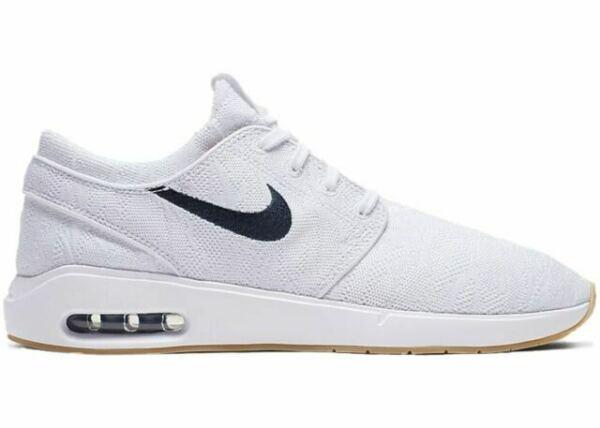 Size 8 - Nike SB Air Max Stefan Janoski 2 White Obsidian 2019 for ...