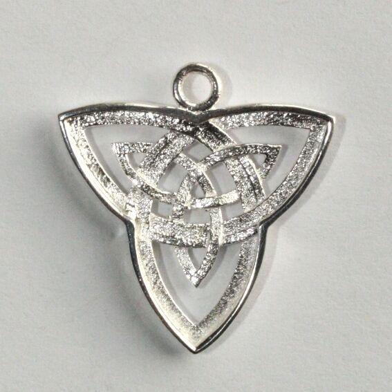 Plata Esterlina Collar Colgante Tucán Trinity Claddagh