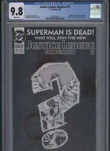 Justice-League-America-71-CGC-9-8-DAN-JURGENS-of-1993