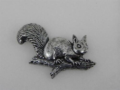 Eichhörnchen Pin Anstecknadel Anstecker Hut Schmuck Button Hutnadel Geschenk Neu