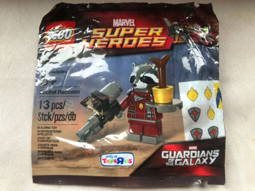 Toysrus Polybag Rocket Raccoon Lego 5002145 Marvel Super Heroes