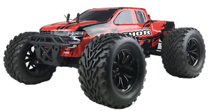 Razzo Racing 1 10 Thor Xxx Electric Rc Monster Truck 2 4ghz Remote Fast 50 Km H Ebay