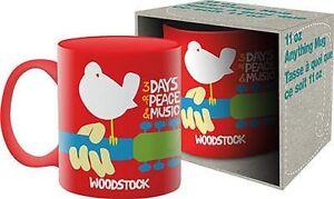 WOODSTOCK-CLASSIC-RED-MUG-BRAND-NEW-11-OUNCES-COFFEE-47100