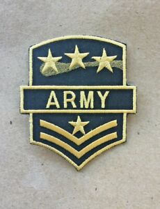USA-ARMY-Iron-On-Patch-Badge-Costume-Dress-up-Party-Budget-DIY-Military-Design