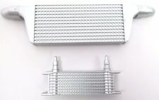 1/10th Scale RC On-Road Intercooler Kit in Silver Traxxas HPI Losi Scale