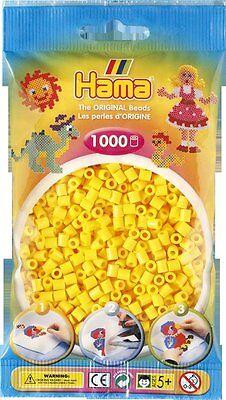 Pack of 1000 Hama Midi Beads - Yellow (207-03)