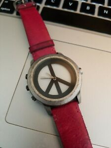 Lucky Brand Peace & Love Good Luck Watch | eBay |Lucky Brand Peace Watch