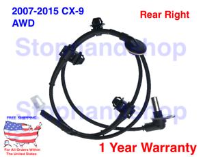 NEW ABS WHEEL SPEED SENSOR FIT 2007-2015 Mazda CX-9 SUV AWD Rear Right Passenger