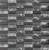 Sparkle Series Black Small Subway Mosaic Tiles - Backsplash Tile/bathroom Tile