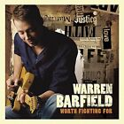 Warren Barfield Worth Fighting For CD