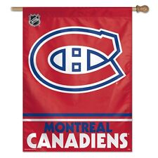 Montreal Canadiens Vertical Flag Wincraft NHL 27in x 37in