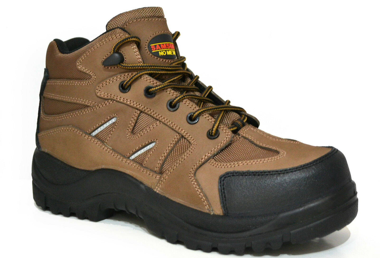 SAMSON XL 7204 Toe S3 SRC Marrone Composite Toe 7204 Cap IMPERMEABILE METAL FREE calzature di sicurezza 742cc1