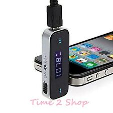 FM HANDS FREE CAR RADIO TRANSMITTER MP3  FOR iPHONE 5s 6 6s IPOD SAMSUNG MOBILE