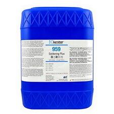5 Gallons Kester 959 Liquid Soldering Welding Flux Twice The Rosin Of 959t