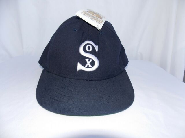Chicago White Sox Baseball Cap Hat American Needle Cooperstown Collection 7-3/8