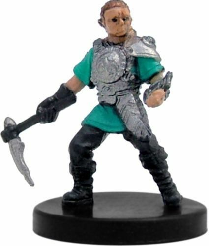 Blood War - SEALED W// CARD! SOLDIER OF BYTOPIA  #11 Gnome Warrior! D/&D Mini