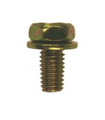 50 M6-1.0 X 12mm Hex Head Sems Body Bolts Clipsandfasteners Inc