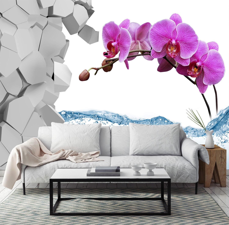 3D Bloom Flowers 51 Wallpaper Murals Wall Print Wallpaper Mural AJ WALL AU Kyra
