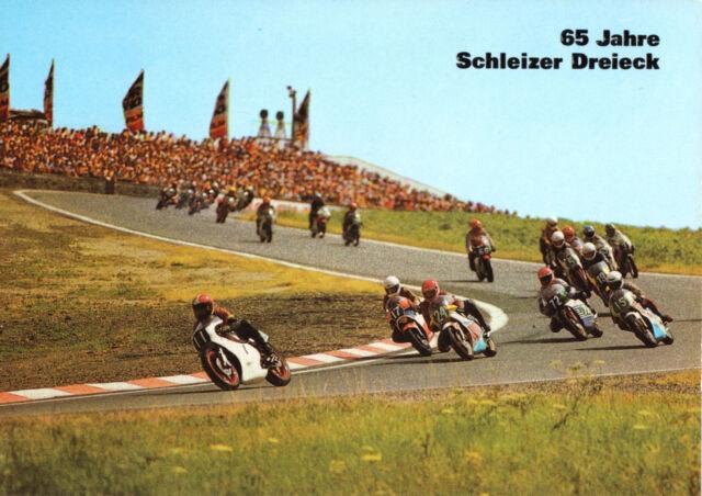 AK, Schleiz, 65 Jahre Schleizer Dreieck, Motorrad - Rennen, 1988